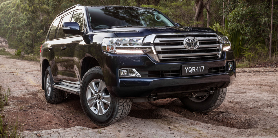 2017 Toyota LandCruiser Altitude on sale