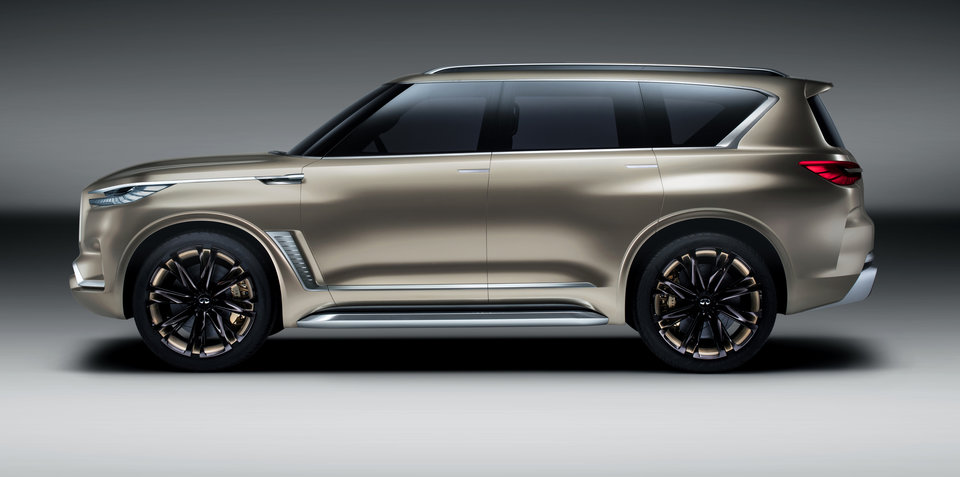 Infiniti QX80 Monograph concept revealed - UPDATE