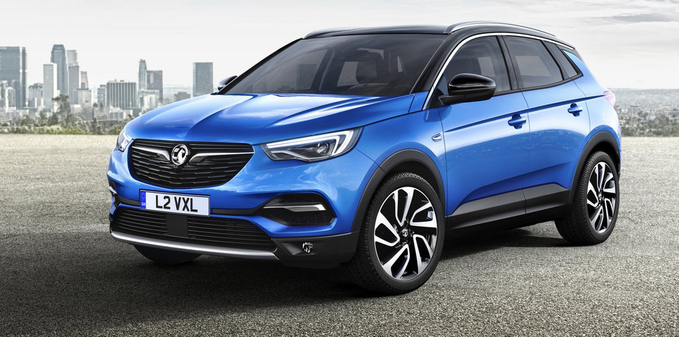 Opel Grandland X SUV revealed