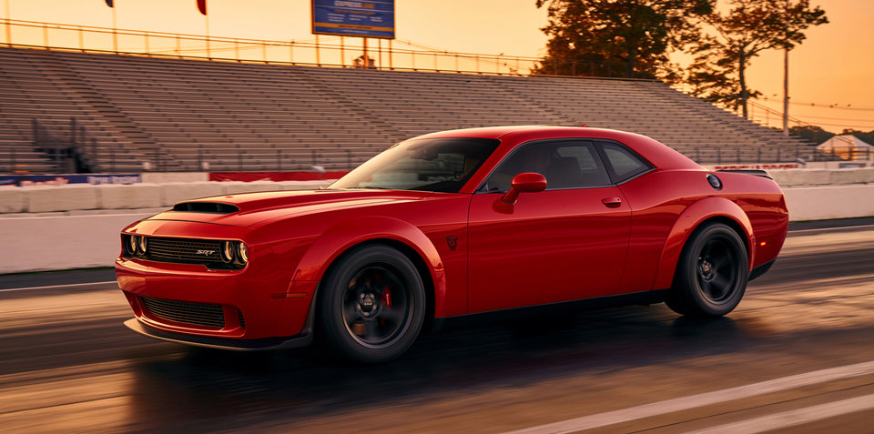 Dodge Demon Revealed Ahead Of New York Motor Show Debut