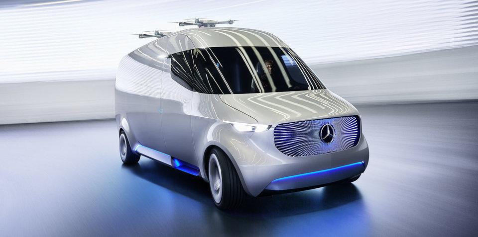 Electric vans will work in Australia, says Mercedes-Benz