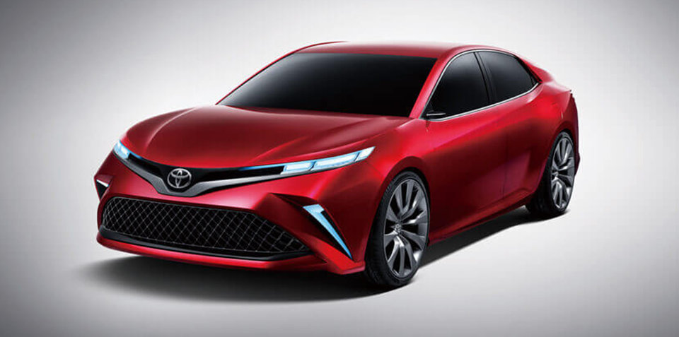 Toyota Fengchao Fun concept previews Asian Camry