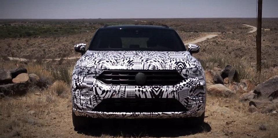 2018 Volkswagen T-Roc teased in new video