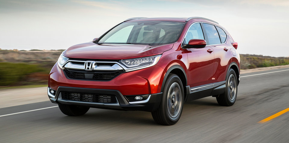 2017 Honda CR-V: Five-seat and seven-seat confirmed for Australia, here in July