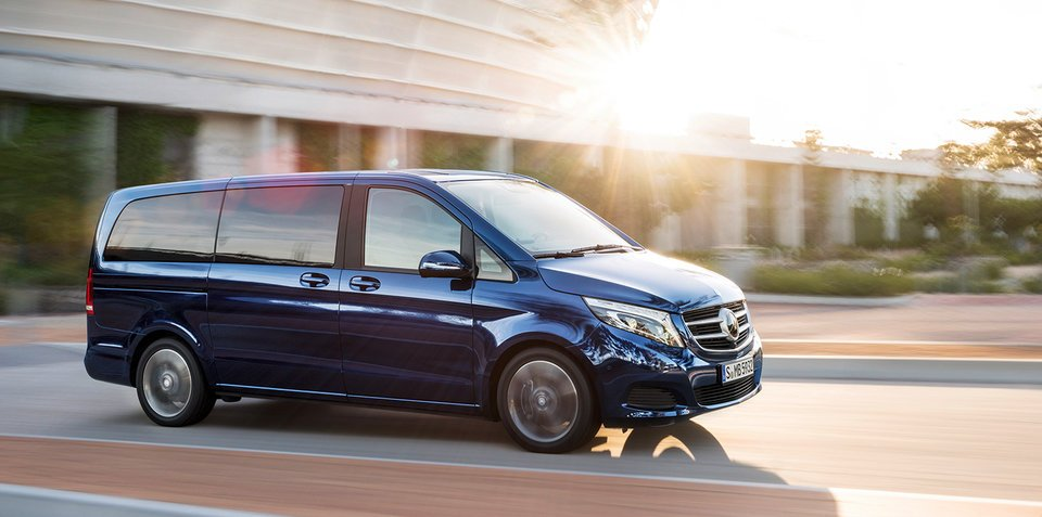 2017 Mercedes-Benz V220d arrives in Australia from $74,990