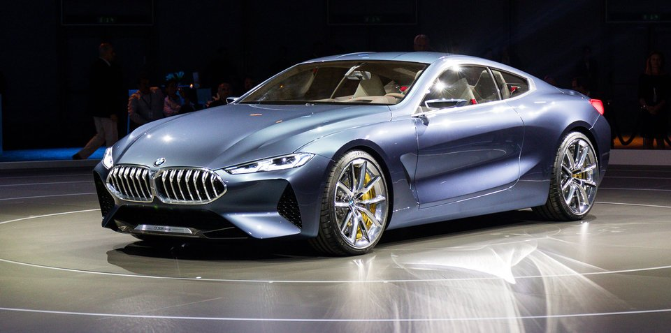 Bmw 8 Series Concept Revealed
