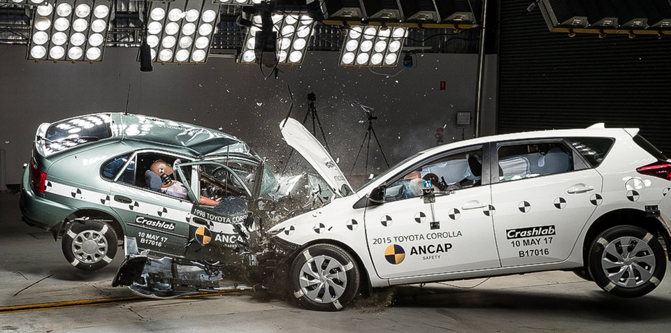 ANCAP: Shocking old v new crash test highlights ominous fatality data