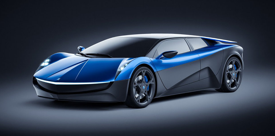 Elextra supercar revealed, EV claims 2.3-second sprint to 100