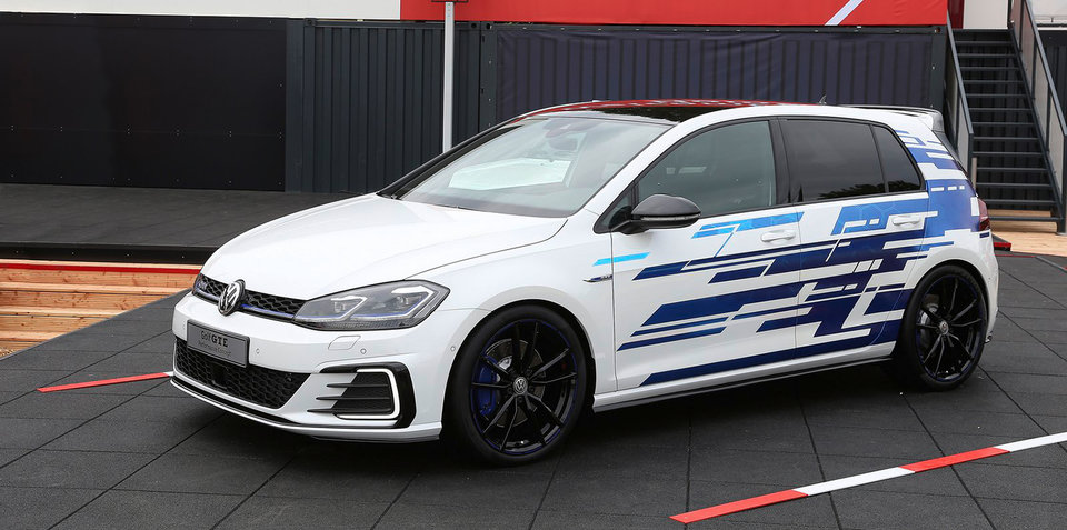 Volkswagen Golf GTE Performance concept: 200kW PHEV debuts at Wörthersee