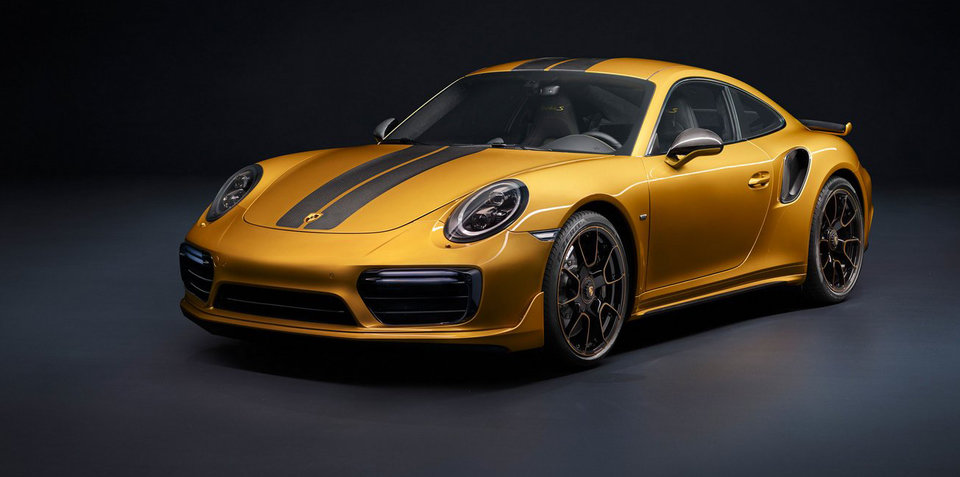Porsche 911 Turbo S Exclusive Series priced for Australia