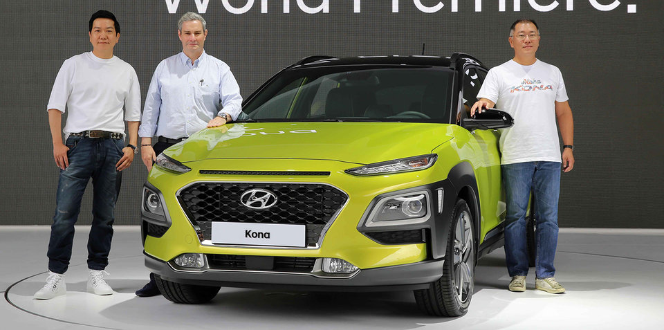 Hyundai Kona EV due in 2018, 390km range targeted