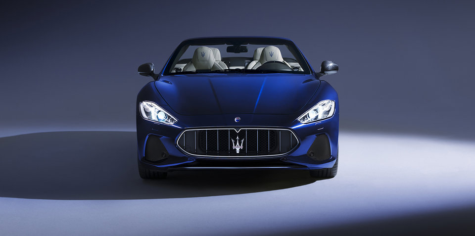 2018 maserati sedan. interesting 2018 2018 maserati grancabrio granturismo fully revealed for goodwood on maserati sedan