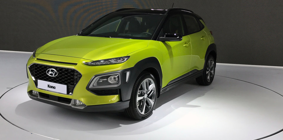 2018 hyundai crossover. interesting 2018 2018 hyundai kona revealed photos and australian details with hyundai crossover