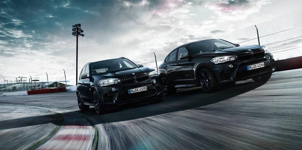2017 BMW X5M, X6M Black Fire Editions arrive in Australia