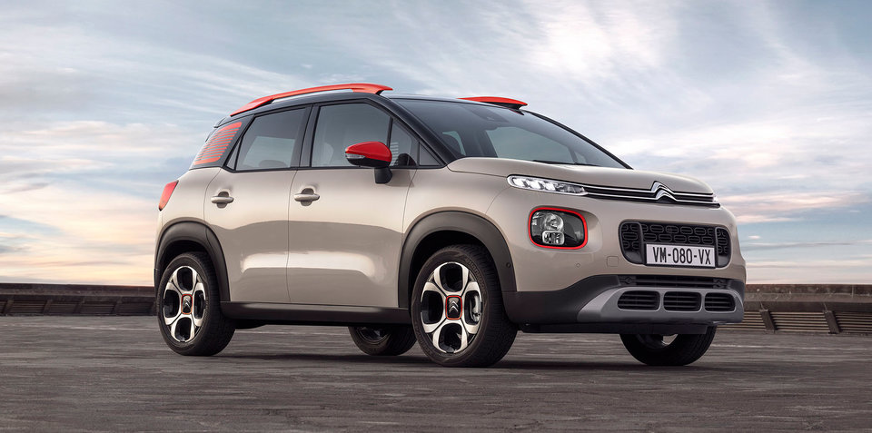 2018 citroen c3 aircross unveiled. Black Bedroom Furniture Sets. Home Design Ideas