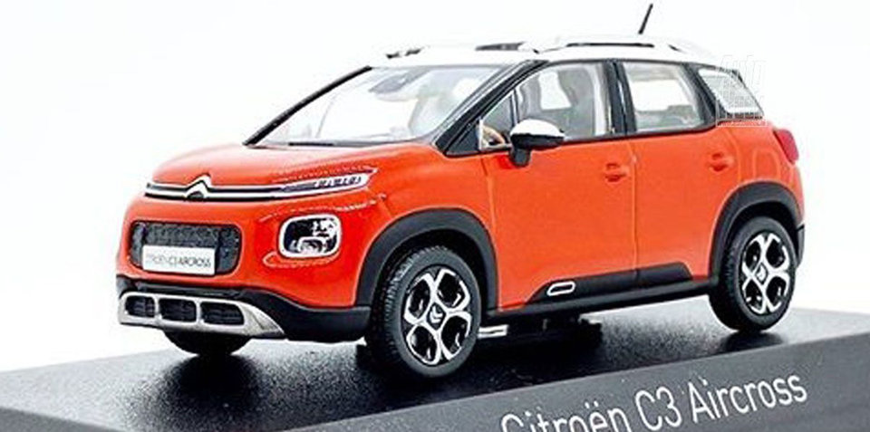 2018 citroen c3 aircross revealed by leaked model. Black Bedroom Furniture Sets. Home Design Ideas