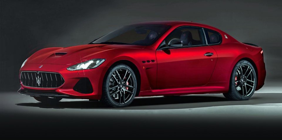2018 maserati granturismo facelift revealed here in 2018 with refreshed interior. Black Bedroom Furniture Sets. Home Design Ideas