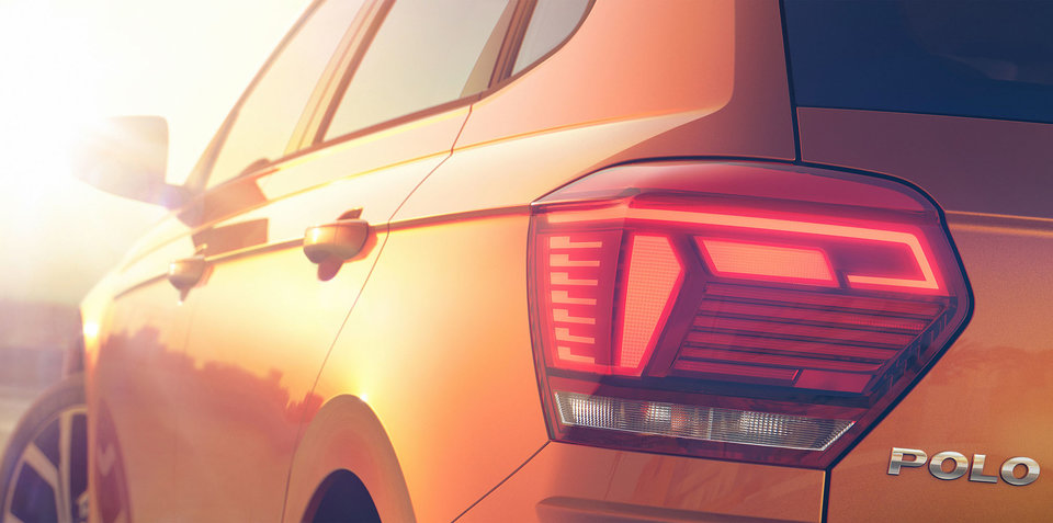 2018 Volkswagen Polo teased ahead of debut this week
