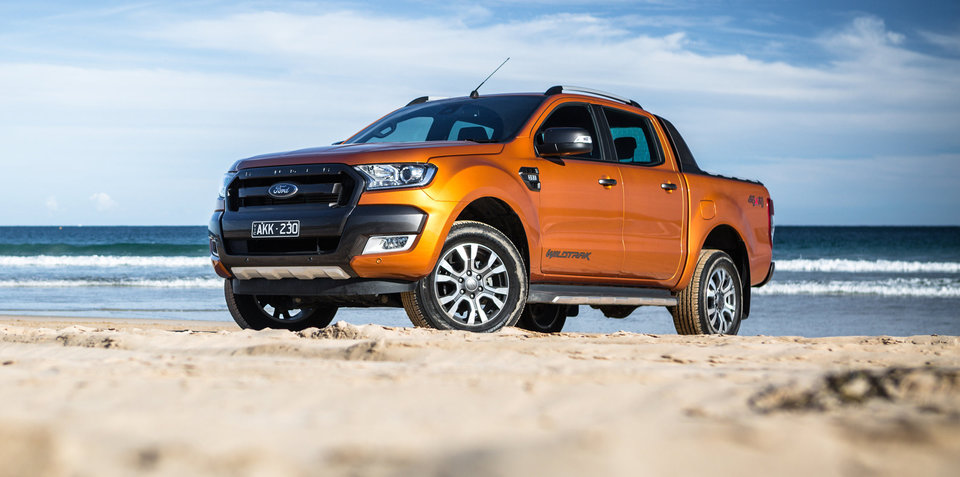 Ford Ranger sales booming across Asia-Pacific