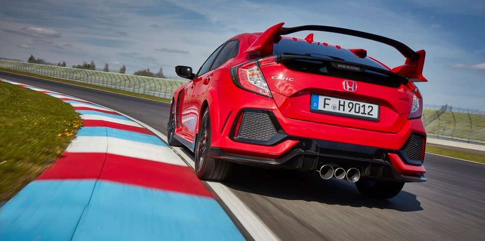 2018 Honda Civic Type R triple exhaust makes the car quieter… wait, what?