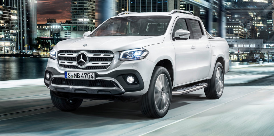 Mercedes-Benz X-Class not just a rebadged Navara, brand claims