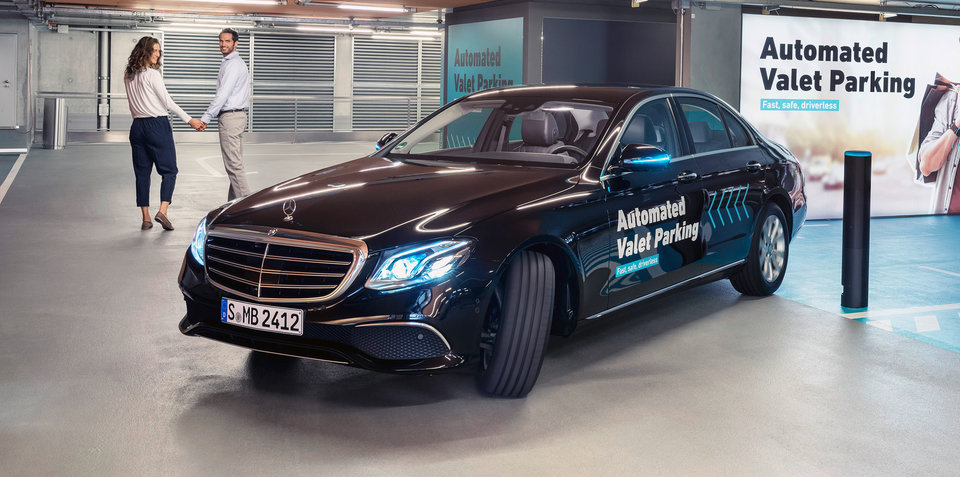 Bosch, Mercedes-Benz launch automated valet parking site in Germany