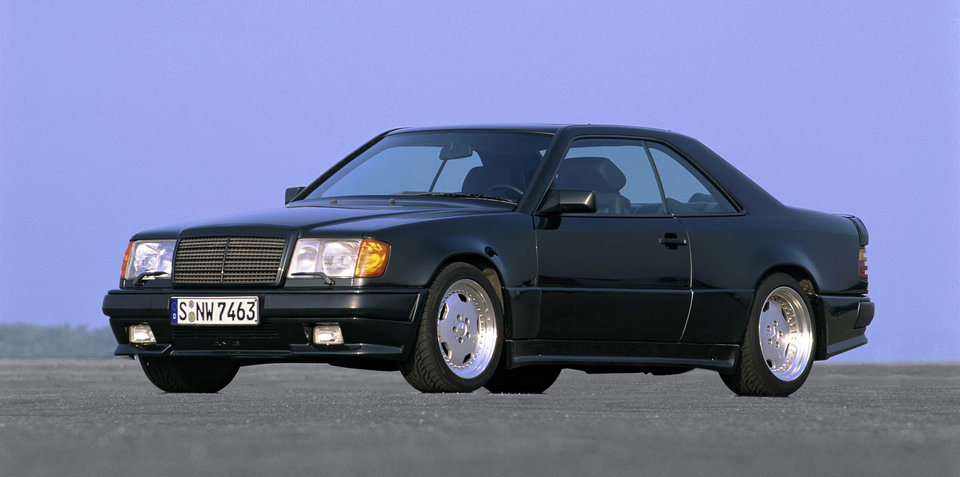 Road Trip: Eifel mountains in the Mercedes 300 CE 6.0 AMG 'Hammer'