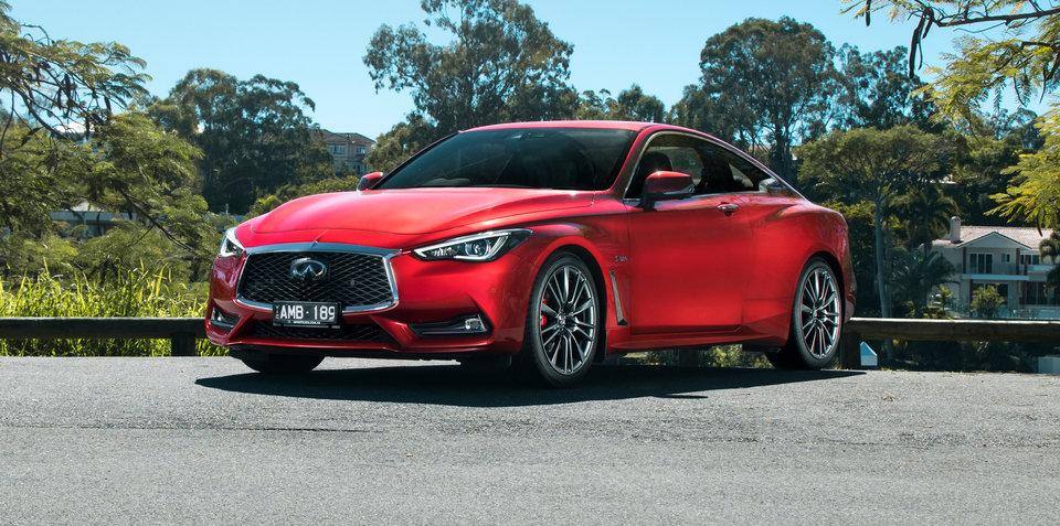 2017 Infiniti Q60 Red Sport review