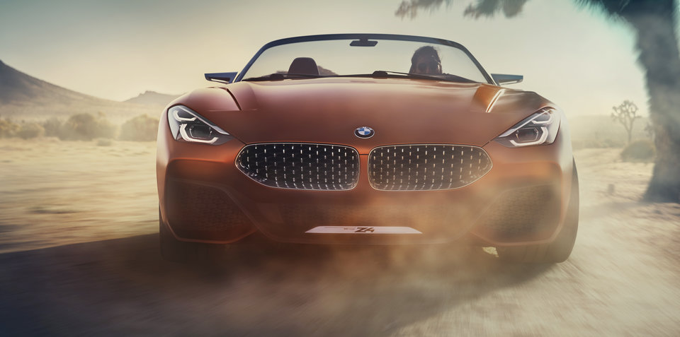 2018 bmw z4 concept. contemporary 2018 2018 bmw z4 newgeneration roadster previewed for pebble beach show inside bmw z4 concept 8