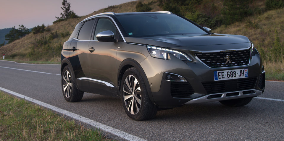 2018 peugeot cars.  cars 2018 peugeot 3008 pricing and specs newgen suv touches down intended peugeot cars