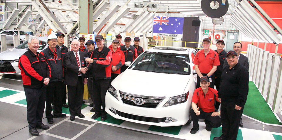 Toyota Aurion production has ended
