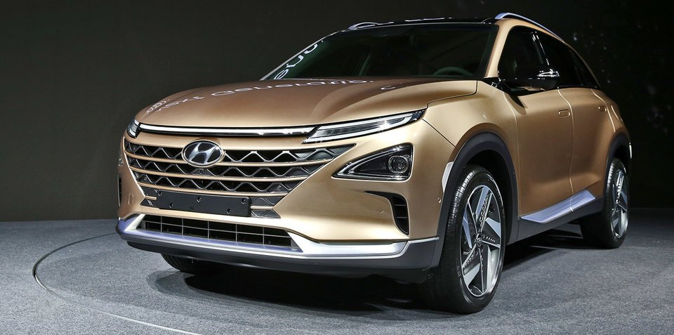 2018 hyundai new suv. plain hyundai 2018 hyundai u0027feu0027 fuelcell suv revealed hits australian alps for testing for hyundai new suv