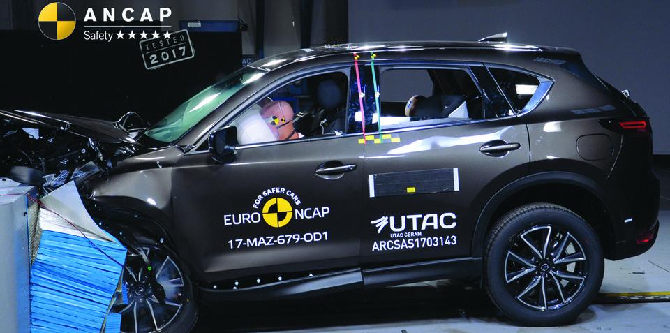 Mazda CX-5, Mercedes-Benz C-Class Cabriolet score five-star ANCAP rating