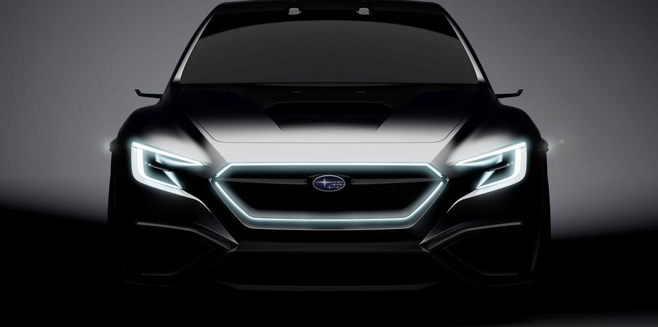 Subaru WRX concept bound for Tokyo, alongside BRZ STI Sport