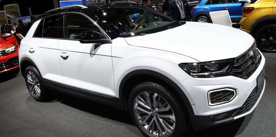 Volkswagen T-Roc unveiled at Frankfurt motor show