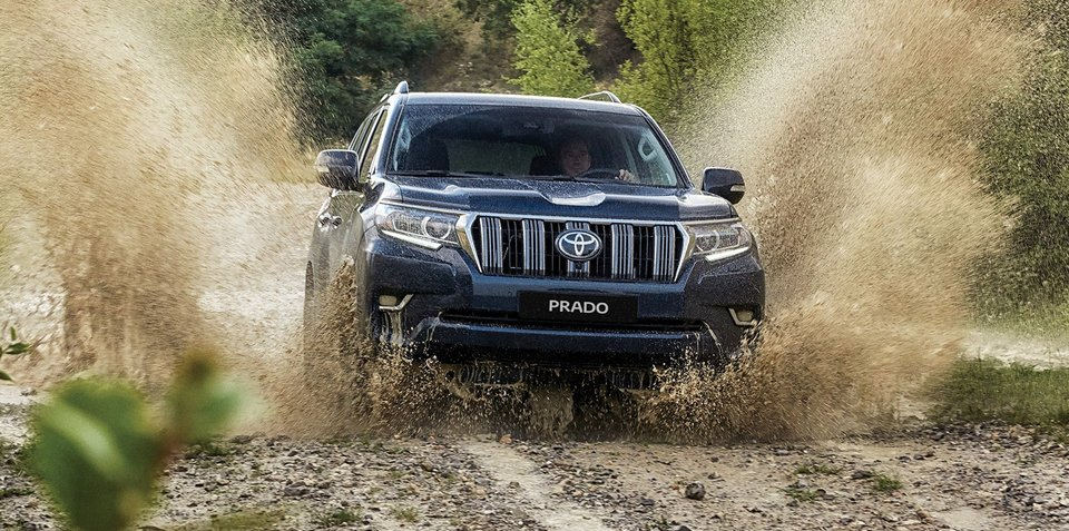 2018 Toyota Landcruiser Prado revealed: Here in November without V6 petrol