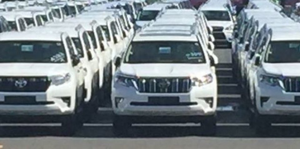 2018 toyota landcruiser 200 series. 2018 toyota landcruiser prado spied due to land locally this year 200 series