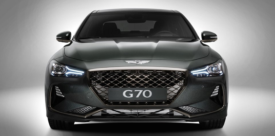 2018 chrysler genesis. simple 2018 2018 genesis g70 australian details and chrysler genesis