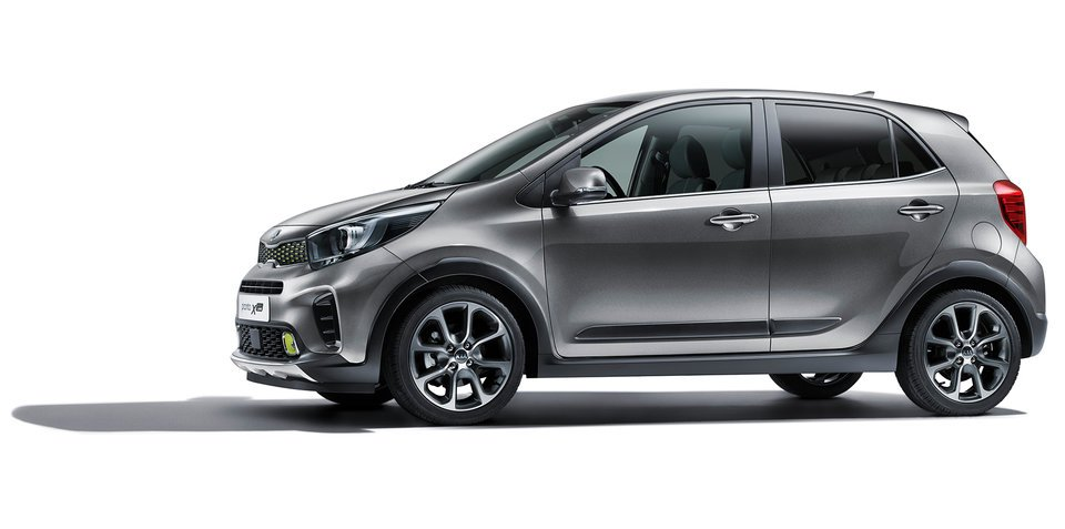 kia picanto x line revealed for frankfurt. Black Bedroom Furniture Sets. Home Design Ideas