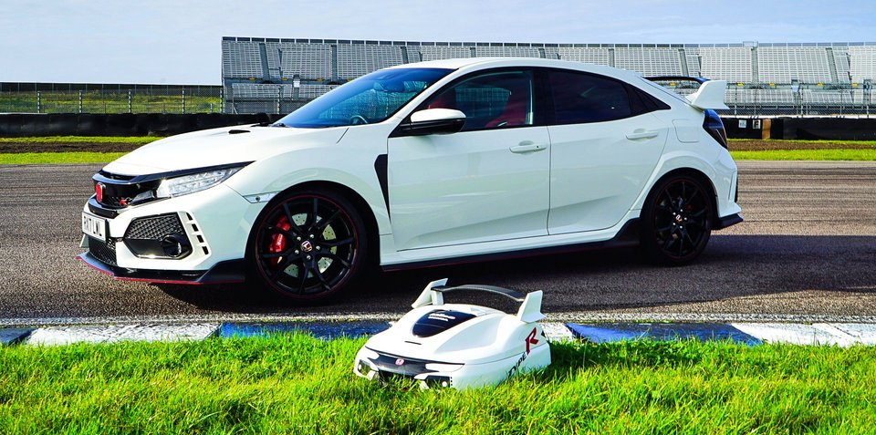 2018 Honda Civic Type R inspires autonomous lawnmower… and now we want one