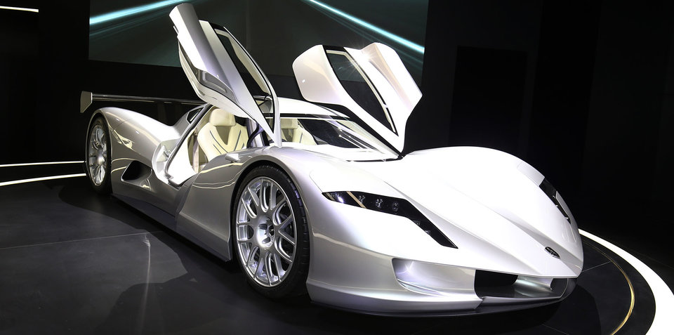 Aspark Owl: Japanese electric supercar debuts in Frankfurt