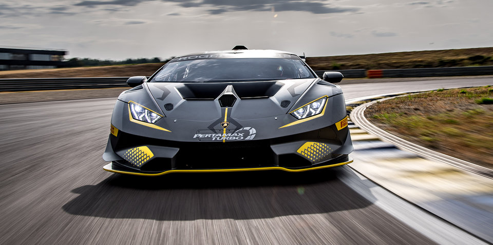 Lamborghini Huracan Super Trofeo Evo revealed for the track