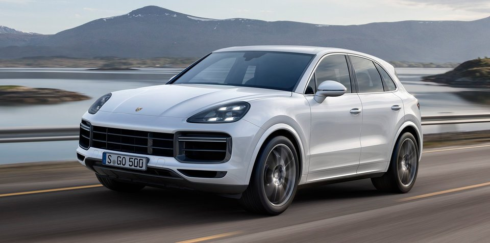 2018 Porsche Cayenne Turbo revealed: Here from mid-2018