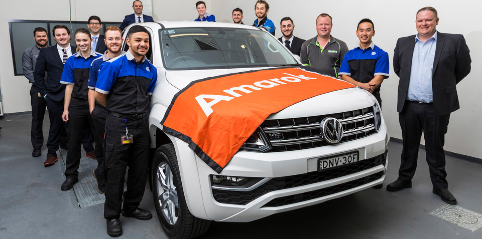 Volkswagen Amarok V6: World Time Attack contender in the works
