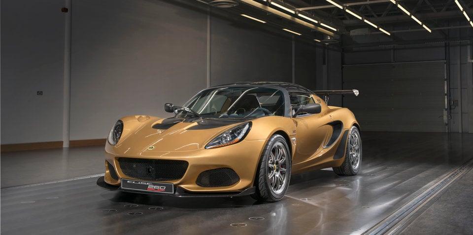 2018 lotus. Modren 2018 2018 Lotus Elise Cup 260 Revealed  UPDATE Throughout Lotus