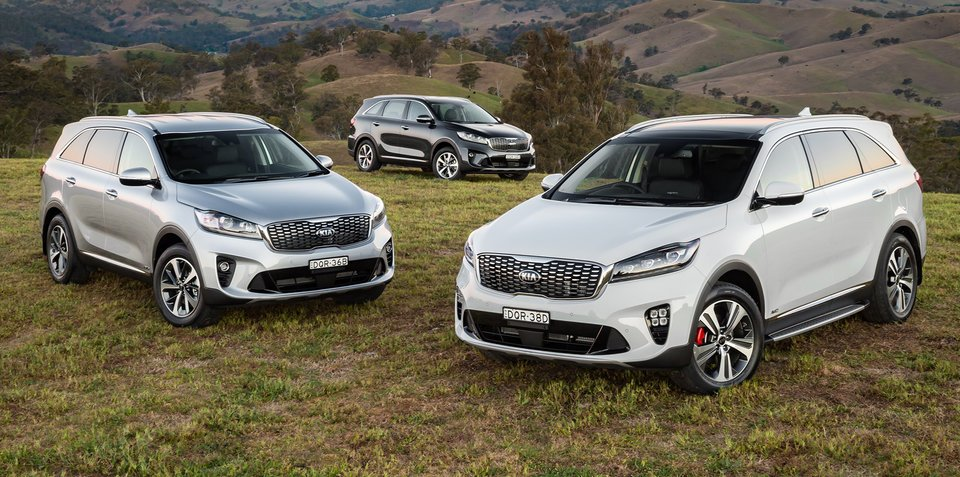 2018 Kia Sorento pricing and specs