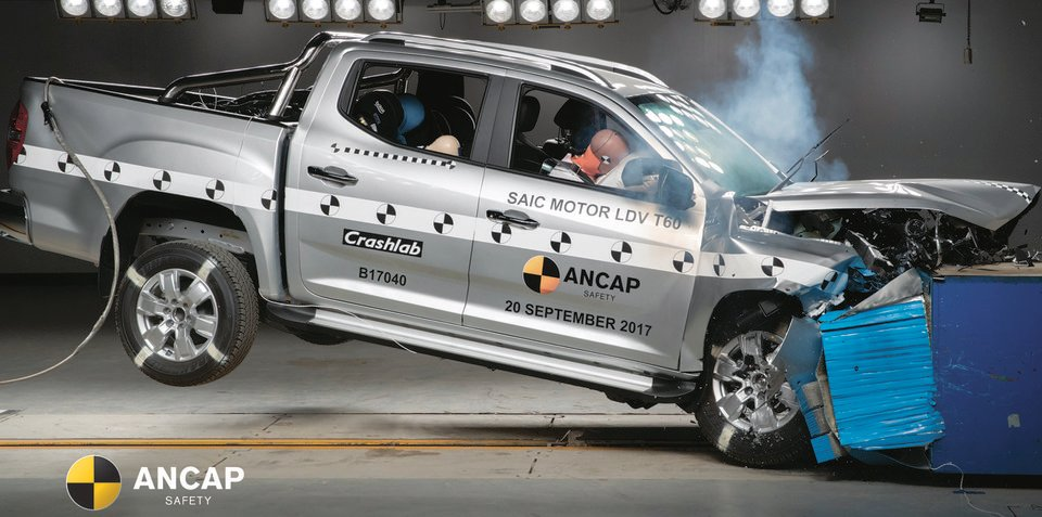 LDV T60, Haval H2, Honda CR-V get five-star ANCAP rating