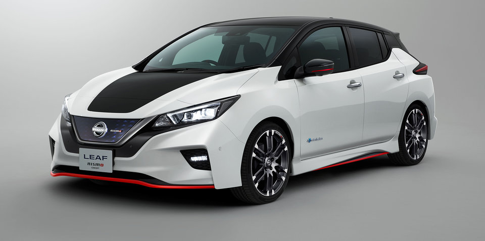 nissan leaf nismo concept revealed ahead of tokyo show update. Black Bedroom Furniture Sets. Home Design Ideas