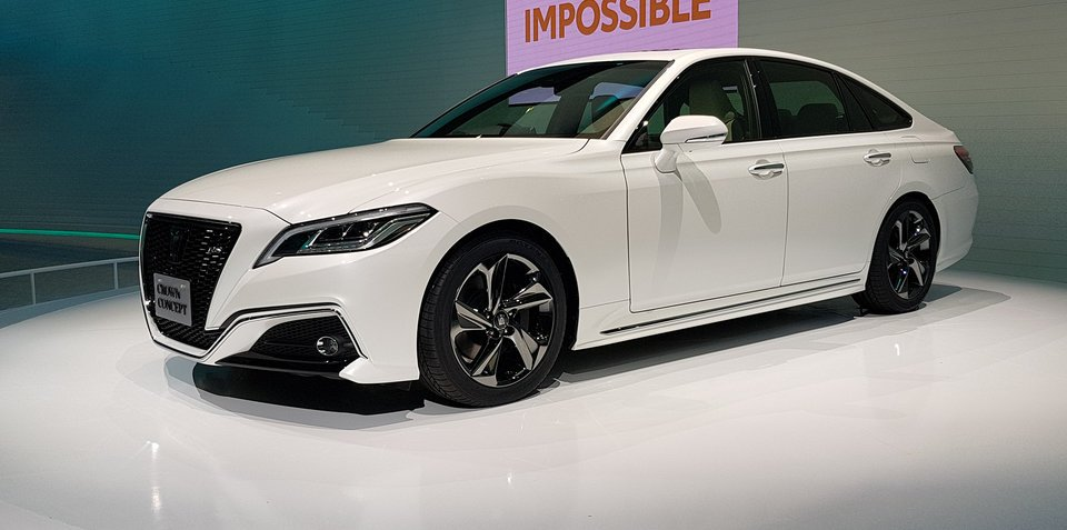 Toyota Crown concept revealed in Tokyo