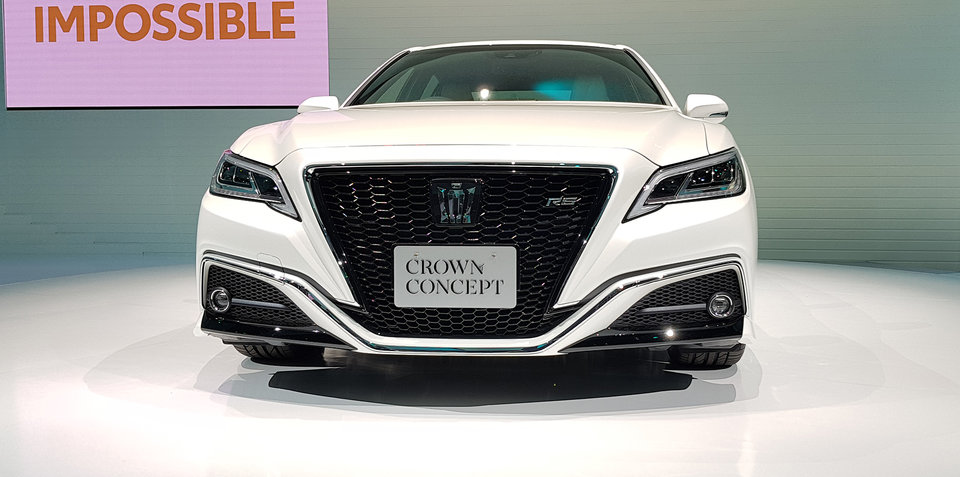 Toyota's new Crown fit for Japanese heads only, again